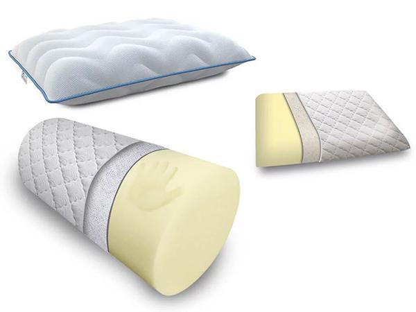 формы ортопедических подушек